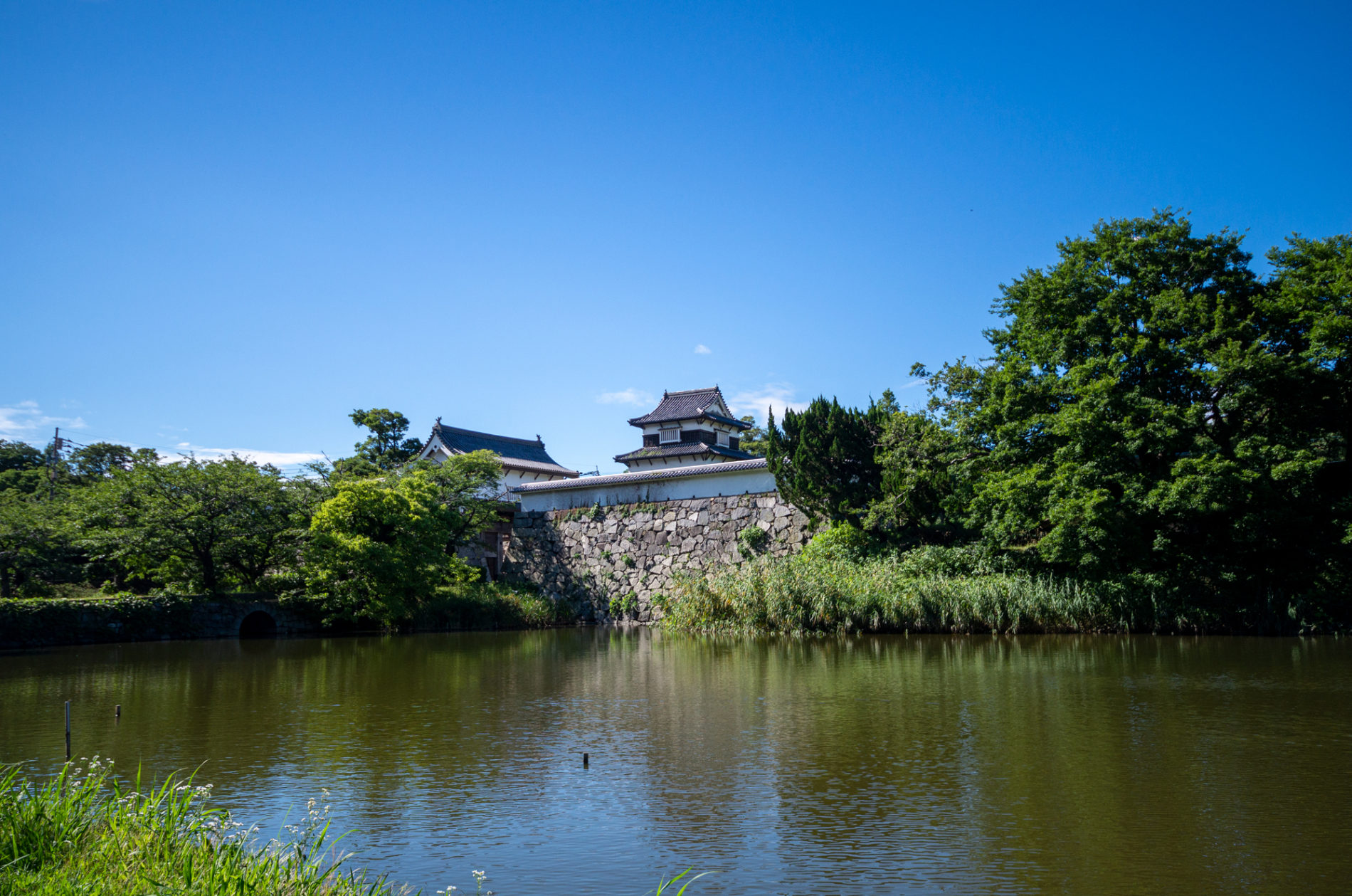 福岡城跡-お堀