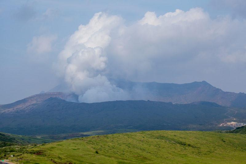 阿蘇山の風景写真