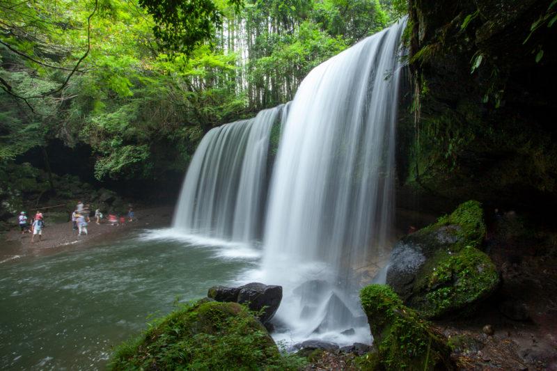 熊本県小国町鍋ヶ滝