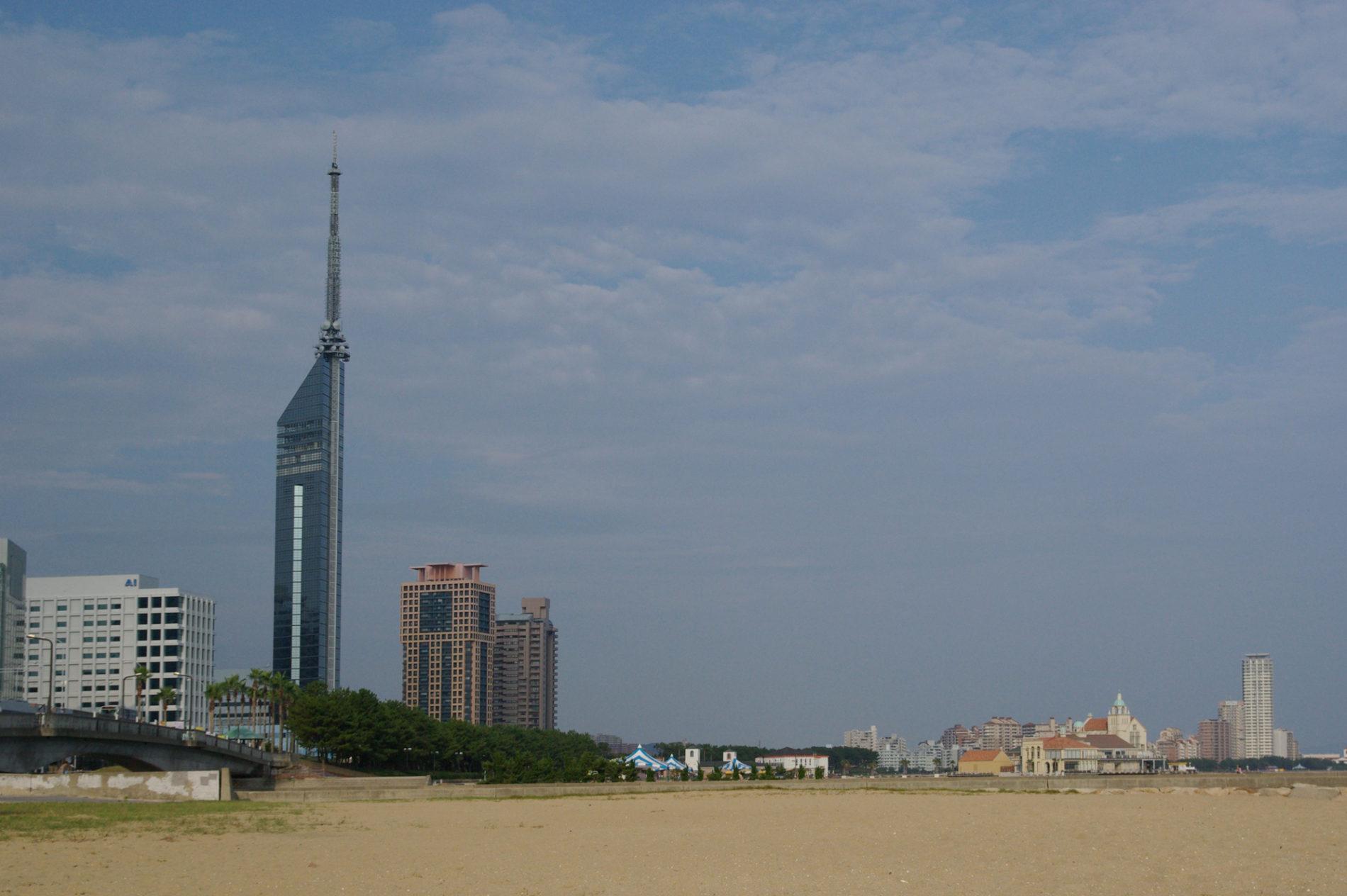 百道浜_福岡タワー