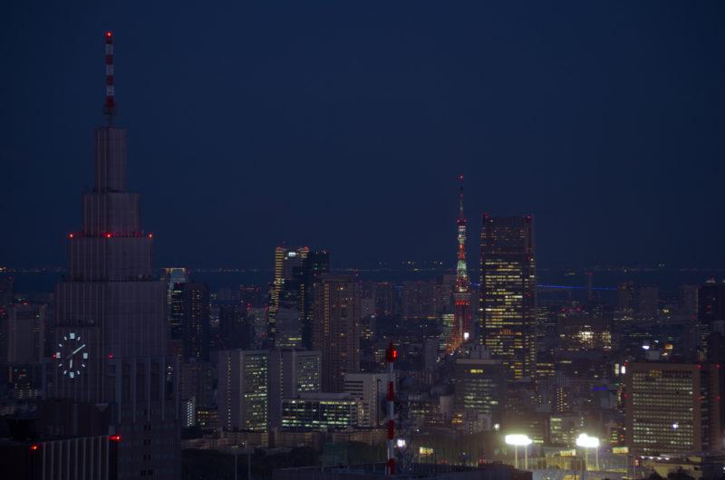 東京の夜景(東京タワー)