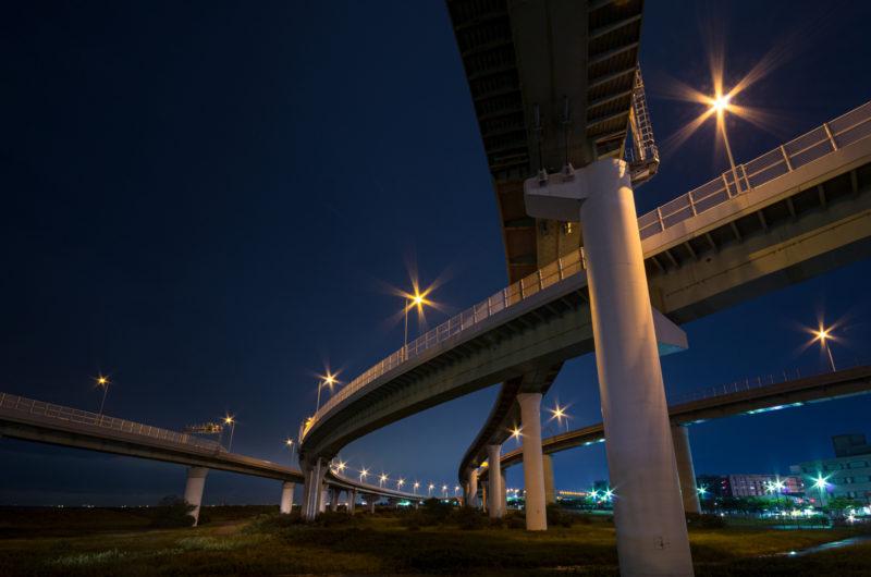りんくうJCT(ジャンクション)阪神高速