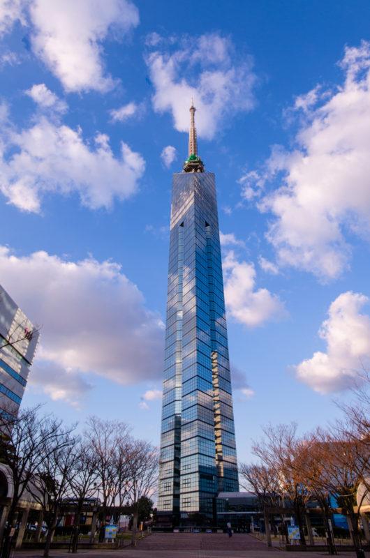 空と福岡タワー